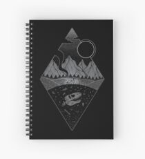 Cuaderno de espiral Anochecer II