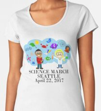 Science March Seattle Women's Premium T-Shirt