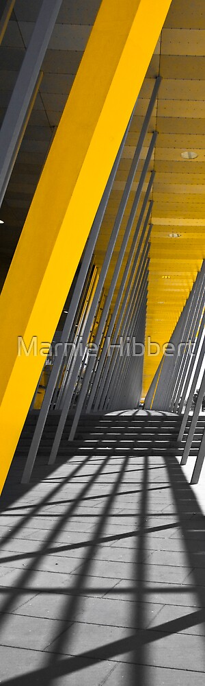 Exhibit In Yellow by Marnie Hibbert