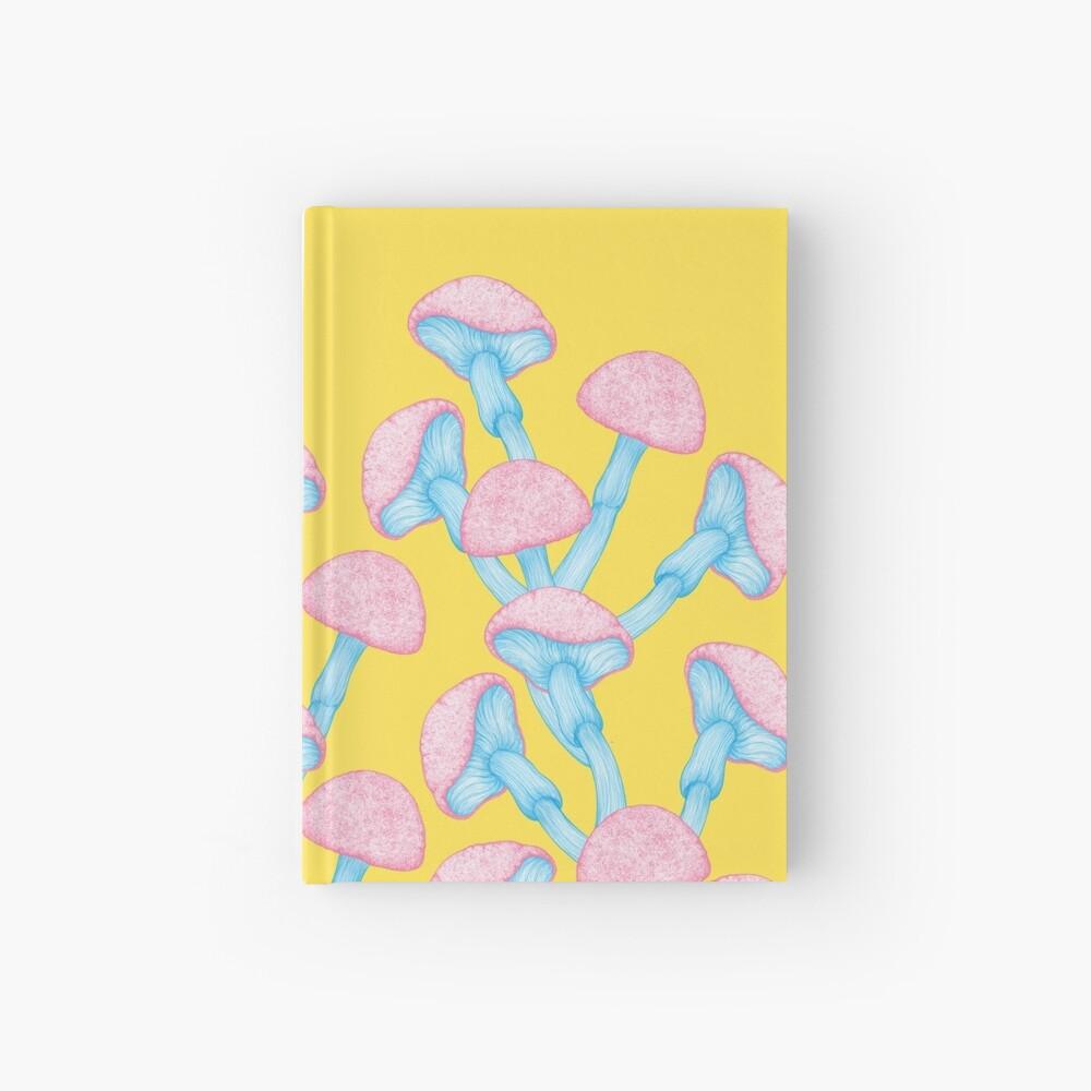 The Garden of Wonderland Mushroom Hardcover Journal
