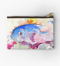 Albert The Existential Fish Studio Pouch
