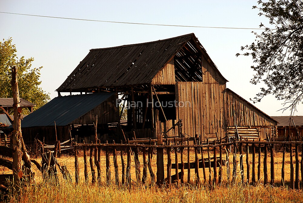 Small Town Barn, Levan, Utah by Ryan Houston
