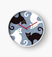 Cat Quartet Clock