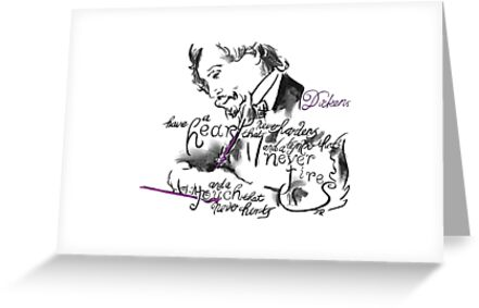 Charles Dickens Picture Quote - Have A Heart by Douglas Rickard