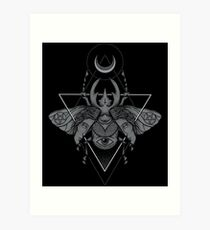 Occult Beetle Art Print