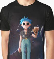 Gorillaz - Saturnz Barz Graphic T-Shirt