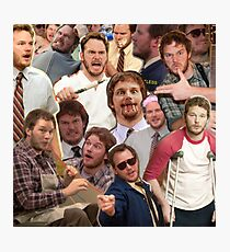 Andy Dwyer - Parks and Recreation Photographic Print