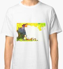 Calvin and Hobbes Summer Days Classic T-Shirt
