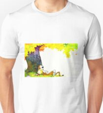 Calvin and Hobbes Summer Days Unisex T-Shirt