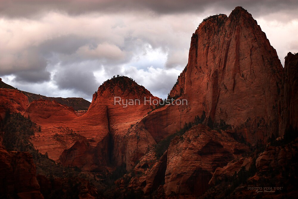 Kolob Canyon, Zion National Park by Ryan Houston