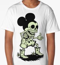 Skull mouse Long T-Shirt