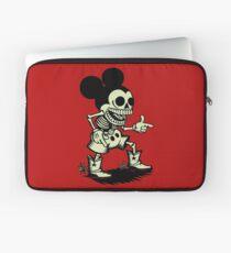 Skull mouse Laptop Sleeve