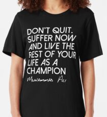Be A Champion Slim Fit T-Shirt