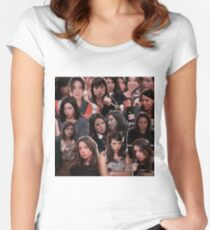 April Ludgate - Parks and Recreation Women's Fitted Scoop T-Shirt
