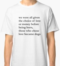 Thoughts and Feelings Classic T-Shirt