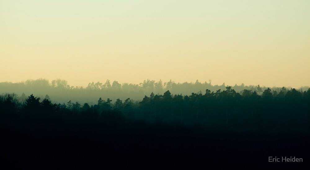 Tri-Tiered Horizon by Eric Heiden