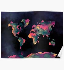 world map 74 Poster