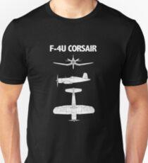 F4U Corsair Aircraft Unisex T-Shirt