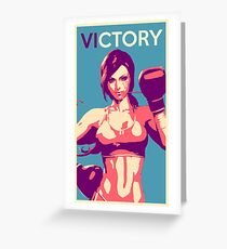 Boxing Vi from League of Legends Greeting Card