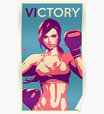 Boxing Vi from League of Legends Poster