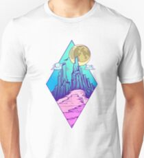 Mountain peak Unisex T-Shirt