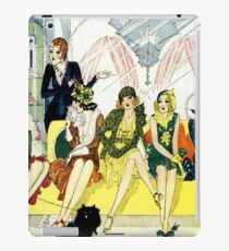 Nell Brinkley's 1920's 'Flapper' Queue At The Salon iPad Case/Skin