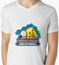 Crime Scene Science Men's V-Neck T-Shirt