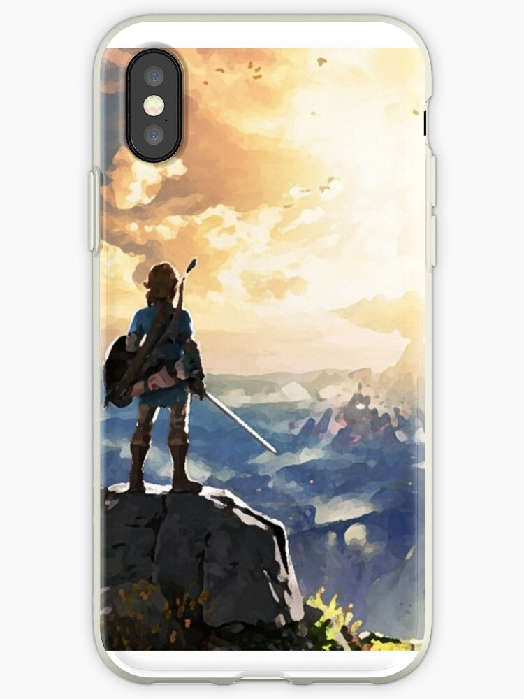 The Legend of Zelda - Breath of the Wild Paint-style Phone Cover by TexanGumbo