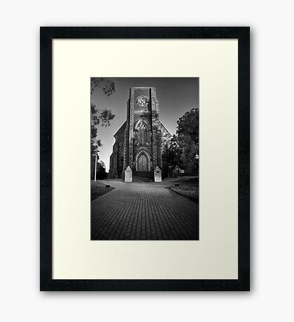 St Aloysius Framed Print