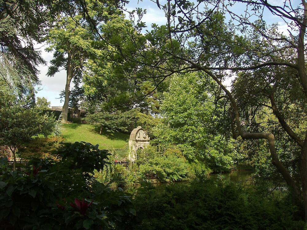 The Dingle,Shrewsbury by Frances Knight