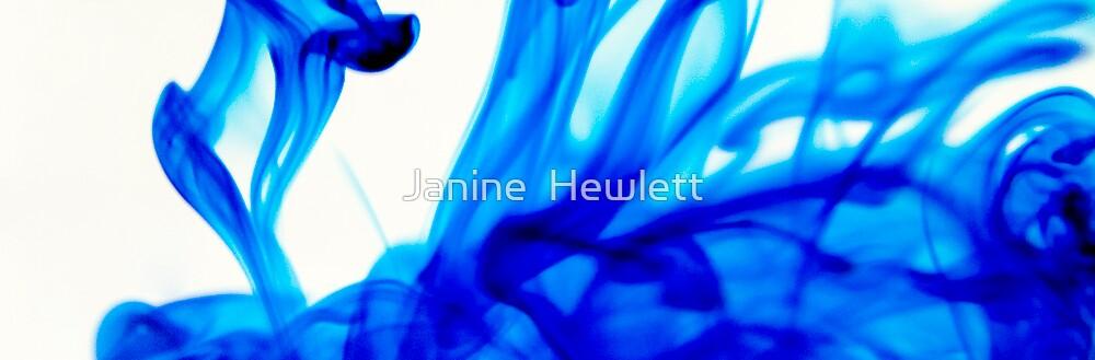Blue by Janine  Hewlett