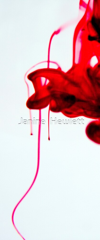 Red by Janine  Hewlett