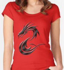 Metal Dragon Women's Fitted Scoop T-Shirt