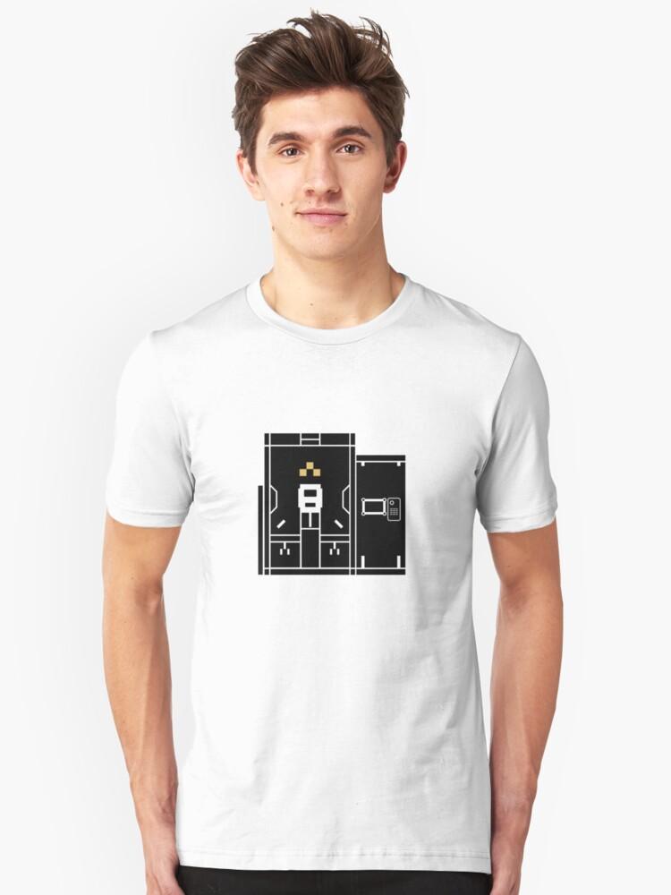 Nier Automata: Access Point (YoRHa) Unisex T-Shirt Front