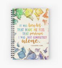 It was books Spiral Notebook