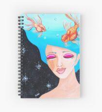 Head Space Spiral Notebook