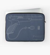 Blueprint of a Zapper light gun Laptop Sleeve