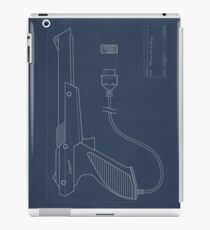 Blueprint of a Zapper light gun iPad Case/Skin