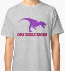 OMNOM dinosaur Classic T-Shirt