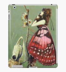 Gothic Moths iPad Case/Skin