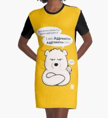 Aggressive Aggressive Graphic T-Shirt Dress