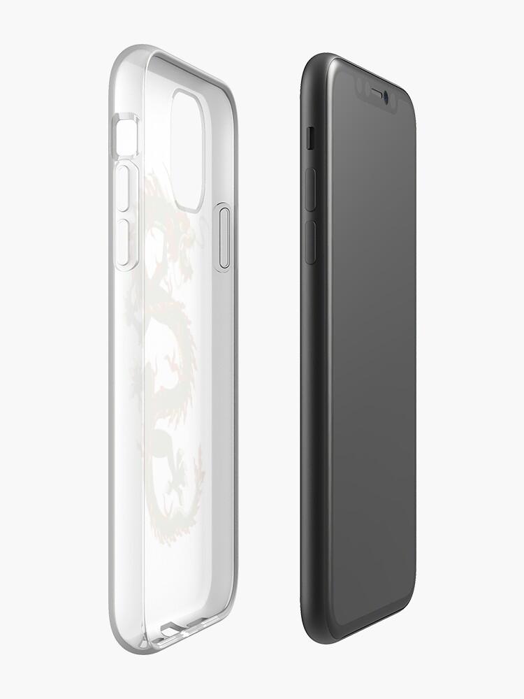 Coque iPhone «Dragon chinois», par altizzy
