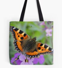 Small Tortoiseshell Butterfly Tote Bag