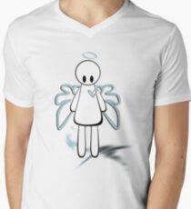 the fallen angel Men's V-Neck T-Shirt