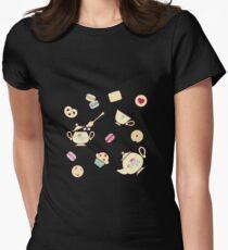 TeaTime Black T-Shirt
