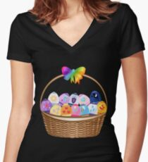 My little Pony - Cutie Mark Easter Special Women's Fitted V-Neck T-Shirt