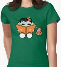 Opso Yo & Epo Love to Read: O'BABYBOT Toy Robot 1.0 Womens Fitted T-Shirt