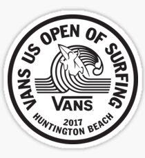 Vans US Open 2017 Sticker