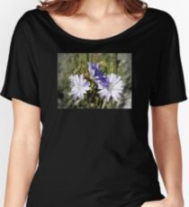chicory flowers 5 Women's Relaxed Fit T-Shirt