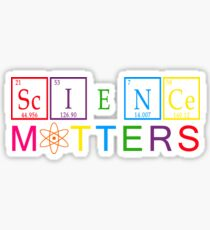 Rainbow Science Matters - March for Science April 22, 2017 Sticker